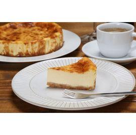 濃厚チーズケーキカット